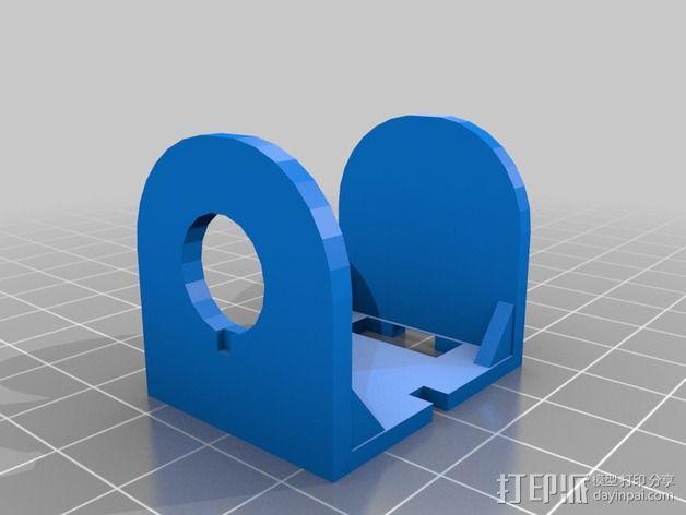 适配器壳子 3D模型  图4