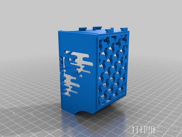 适配器壳子 3D模型  图3
