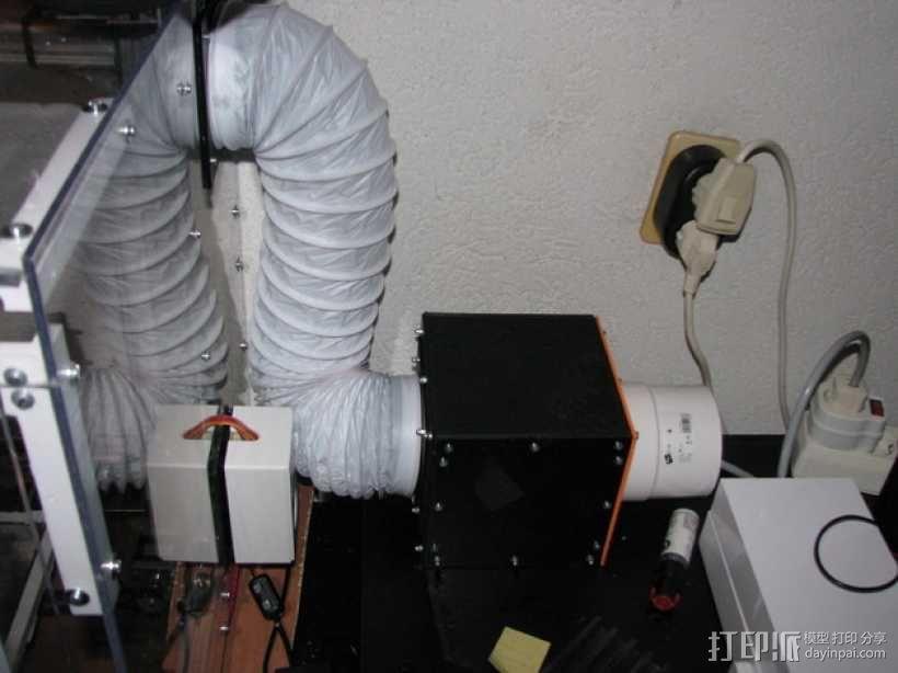 排烟管 3D模型  图1