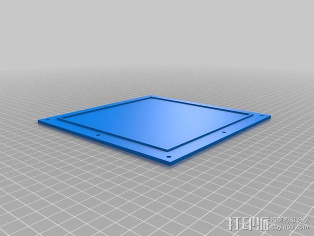 排烟管 3D模型  图3