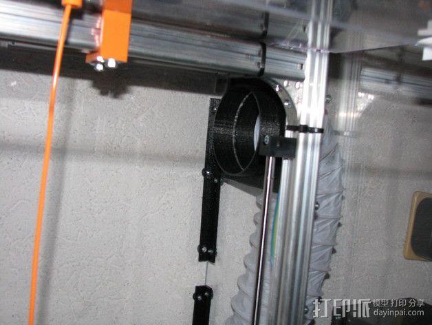 排烟管 3D模型  图8