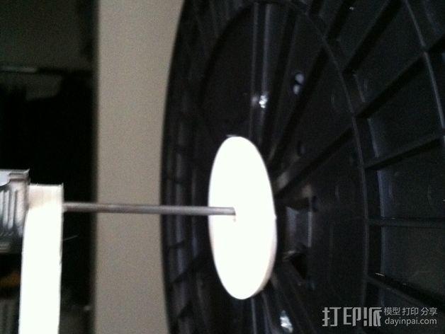 灯丝适配器 3D模型  图1