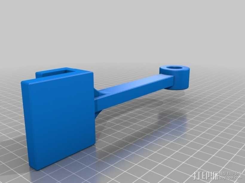 支座 3D模型  图1