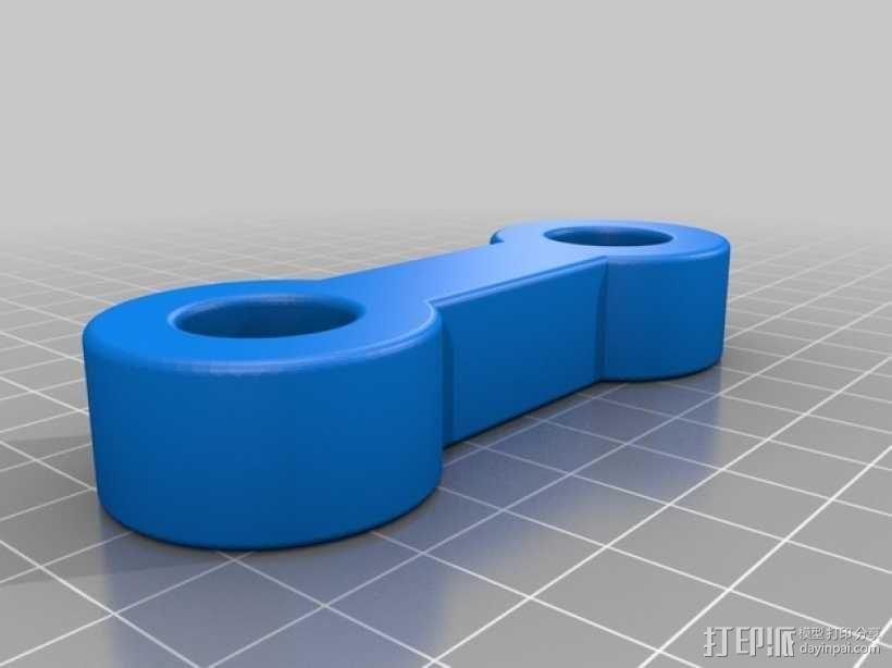 支座 3D模型  图4