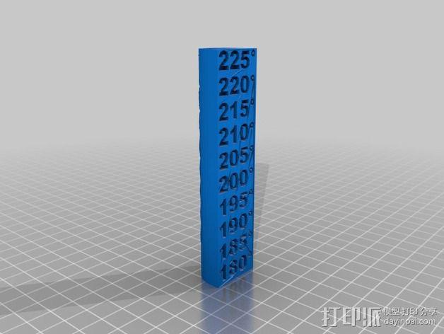 温度测试 3D模型  图2