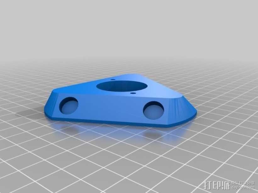 自制3D打印机 3D模型  图18
