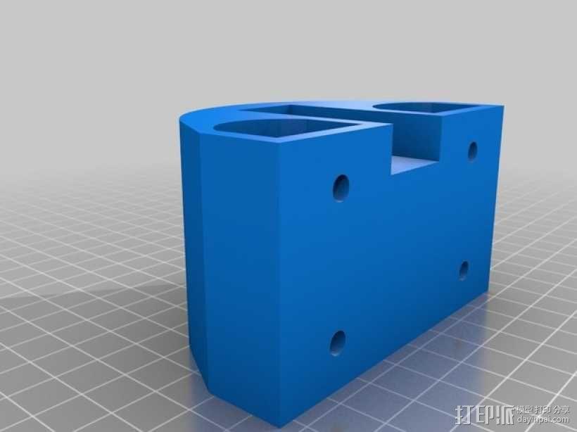 自制3D打印机 3D模型  图20