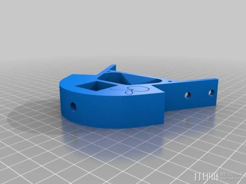 自制3D打印机 3D模型  图22