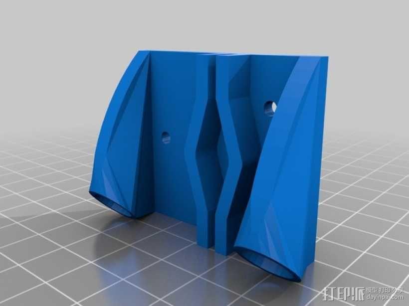 自制3D打印机 3D模型  图25