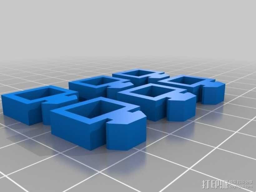 自制3D打印机 3D模型  图29