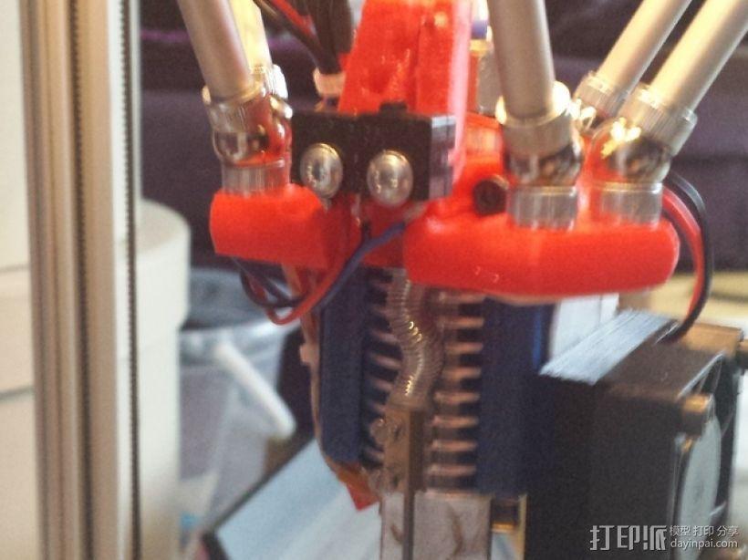 自制3D打印机 3D模型  图36
