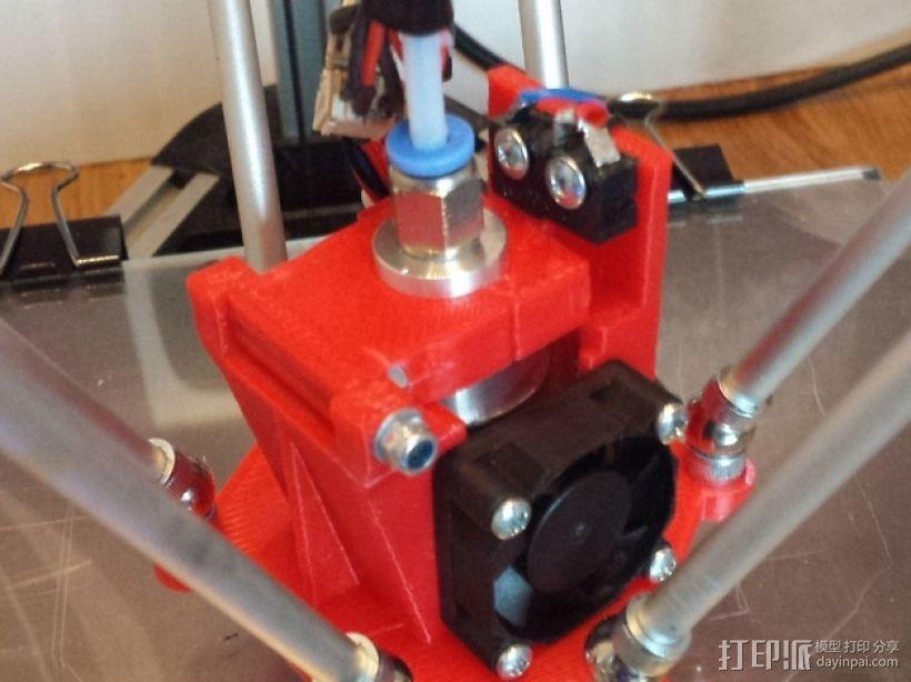 自制3D打印机 3D模型  图37