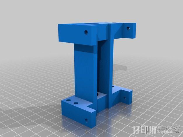 导杆 3D模型  图2