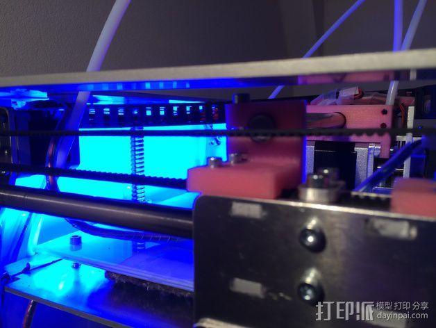 导杆 3D模型  图1