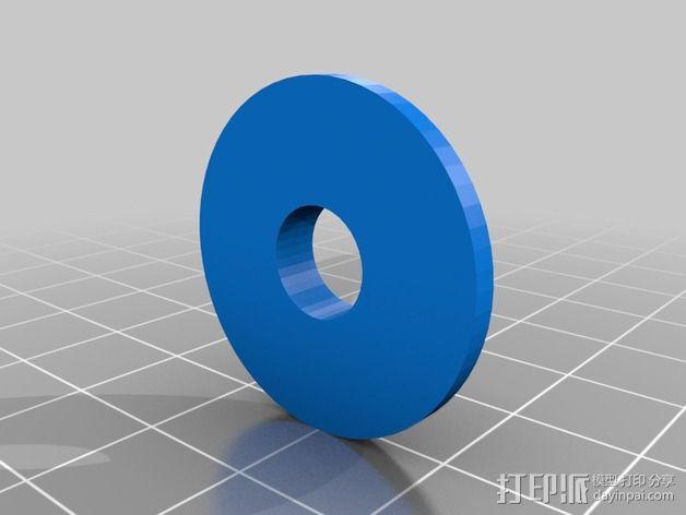 导杆 3D模型  图4