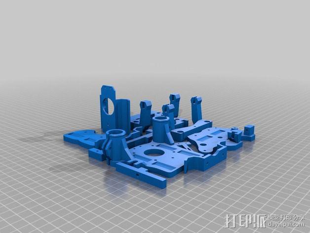 适配器 3D模型  图1