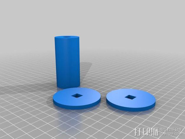 线轴 3D模型  图10