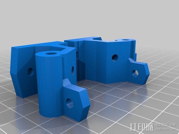 激光切割打印机 3D模型  图2