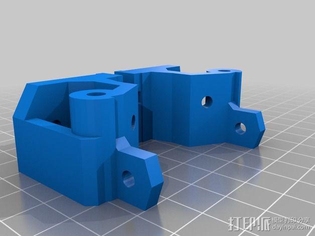 激光切割打印机 3D模型  图3