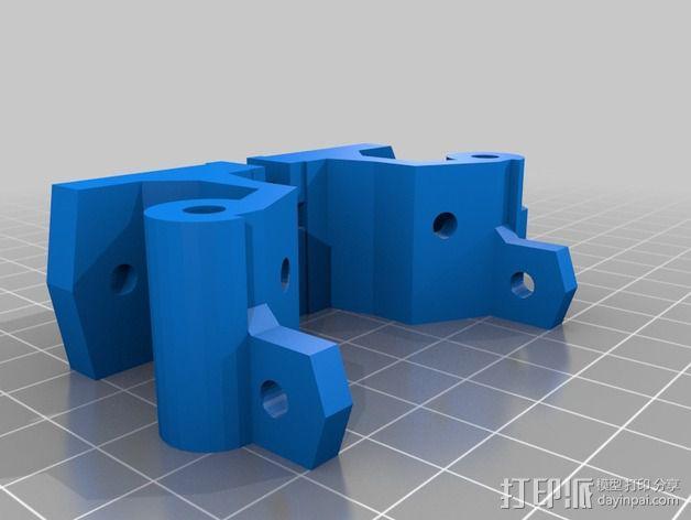 激光切割打印机 3D模型  图4