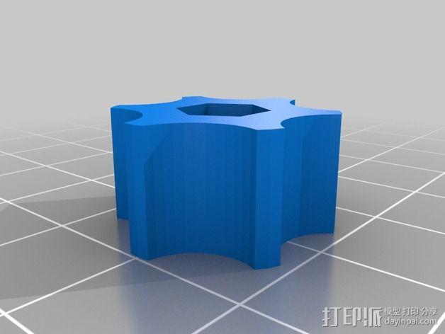 激光切割打印机 3D模型  图12