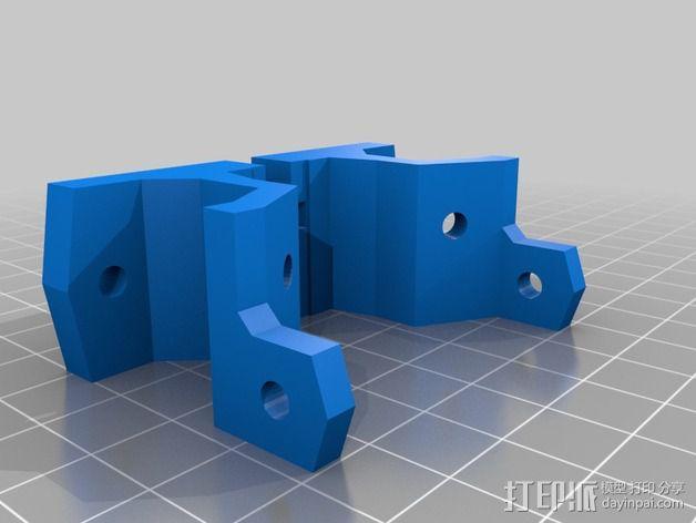 激光切割打印机 3D模型  图15