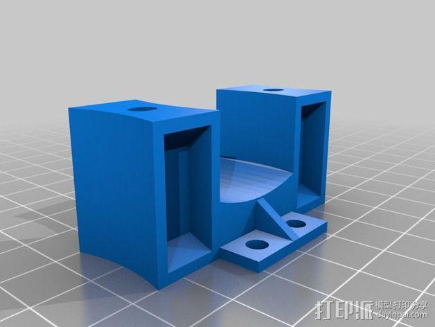 激光切割打印机 3D模型  图14