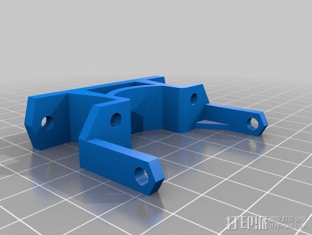 激光切割打印机 3D模型  图13