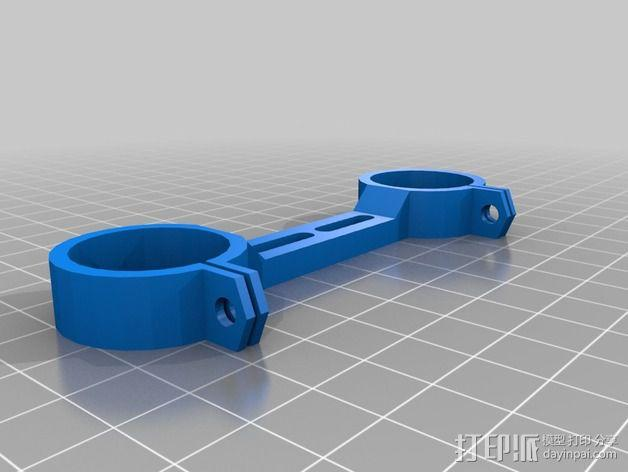 激光切割打印机 3D模型  图17