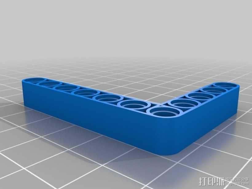 乐高L配件 3D模型  图1