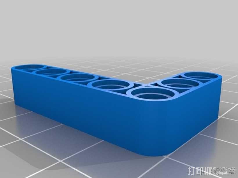 乐高L配件 3D模型  图2