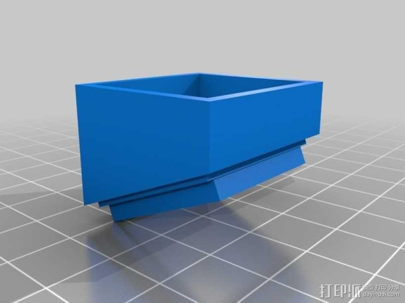 风扇 3D模型  图2