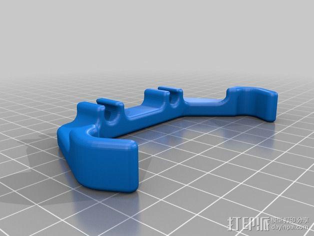 管夹 3D模型  图3