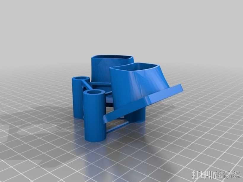 E3D风扇 3D模型  图1