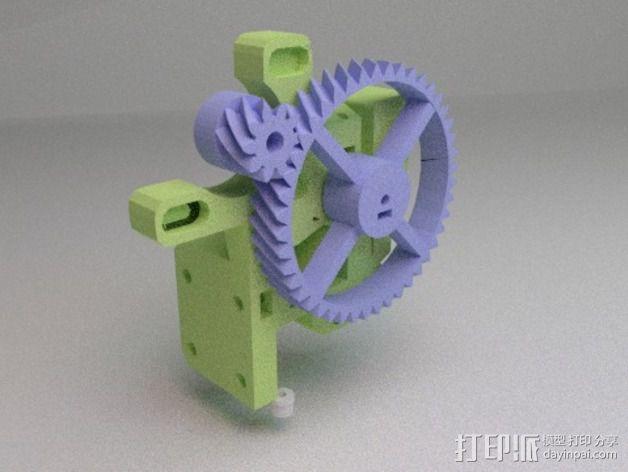 prusa i3 适配器 3D模型  图4