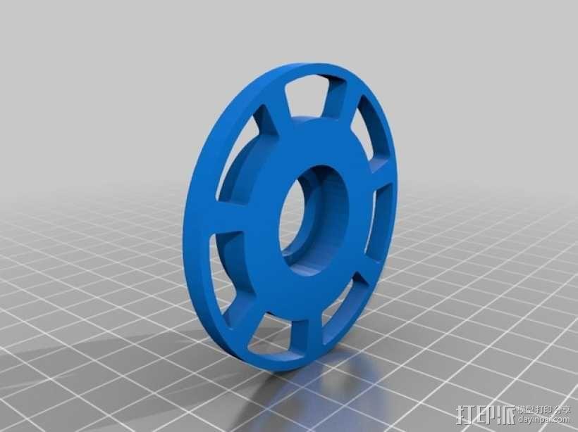 线轴 3D模型  图14