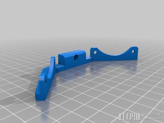 风扇支架 3D模型  图2