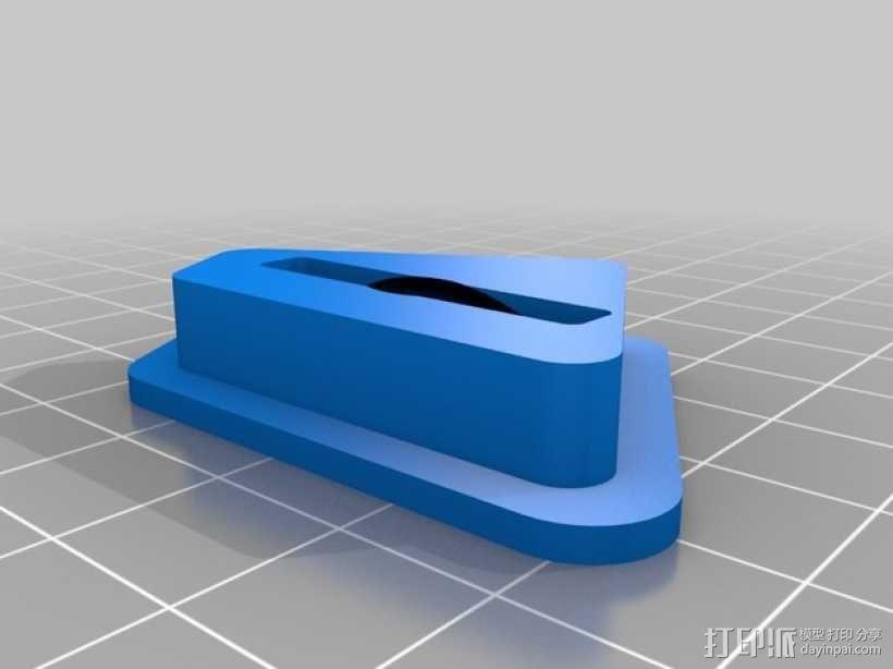 LCD控制外壳 3D模型  图9