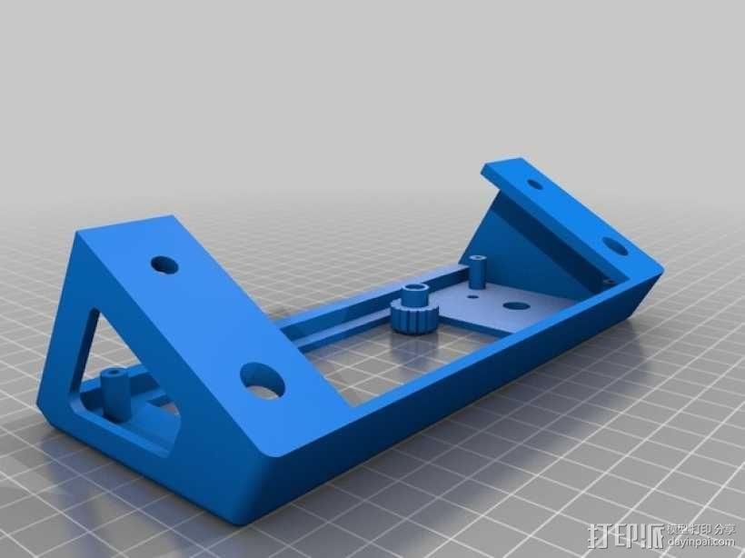 LCD控制外壳 3D模型  图8