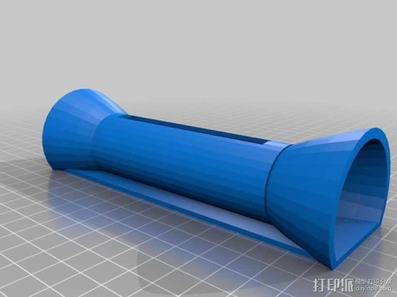 扬声器 3D模型  图1