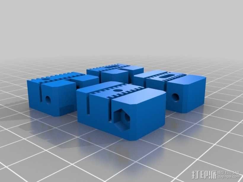 线轴 3D模型  图1