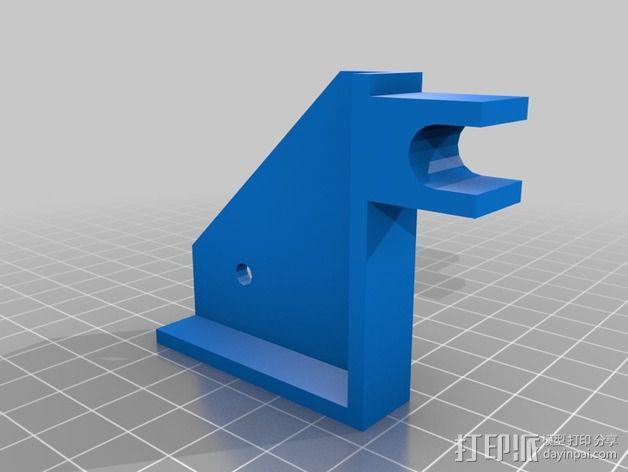 电池夹 3D模型  图2