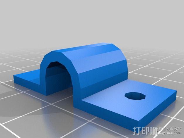 电池夹 3D模型  图3