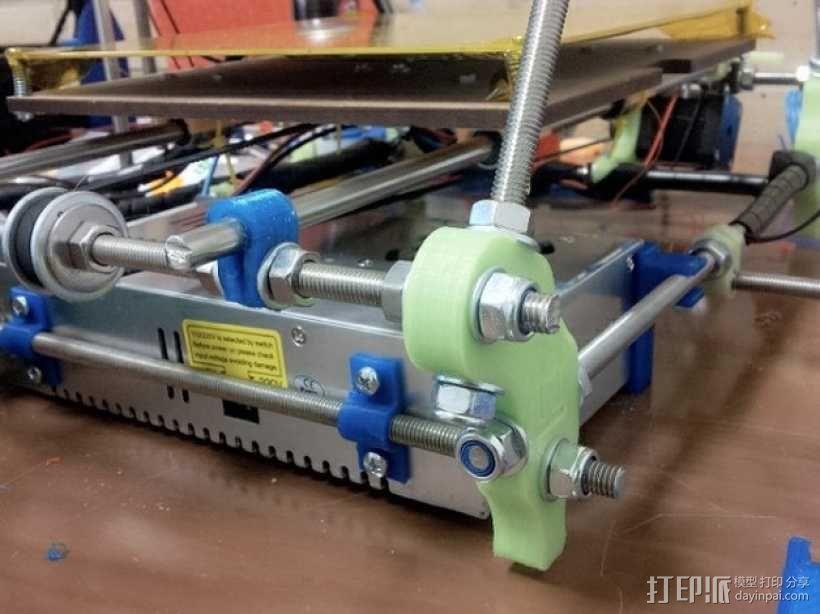 电池夹 3D模型  图1