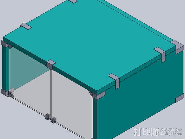 外壳夹 3D模型  图2