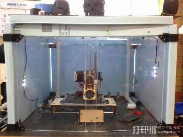 外壳夹 3D模型  图3