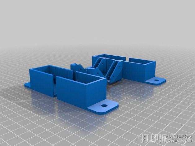 外壳夹 3D模型  图7