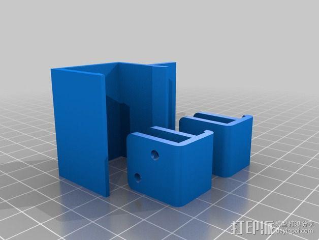 外壳夹 3D模型  图8