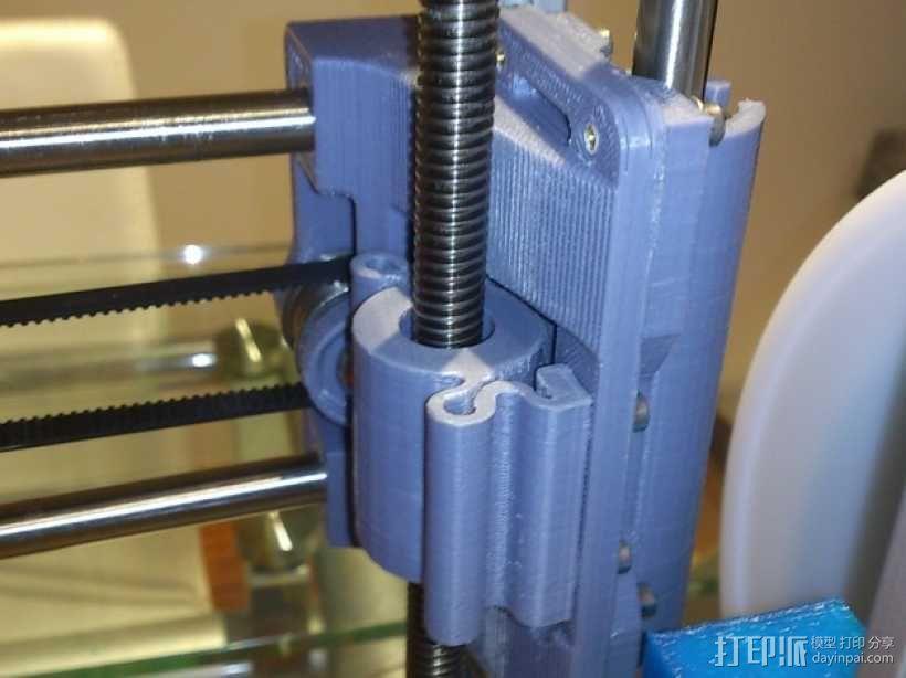螺纹适配器 3D模型  图1