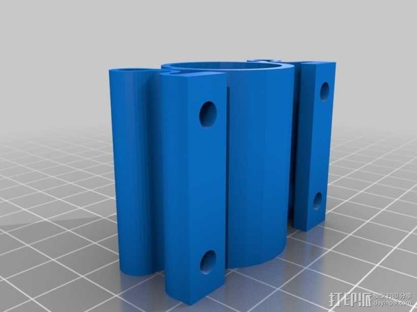 螺纹适配器 3D模型  图2